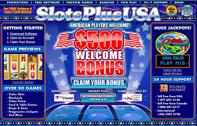 Slots Plus USA Casino